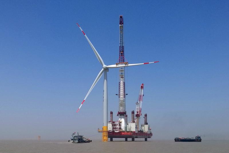 华英电力互感器测试仪应用于滨海北H2海上风电项目